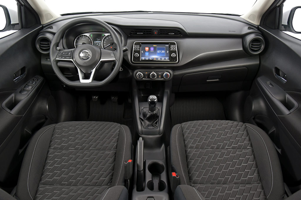 Interior del Nuevo Nissan Kicks Sense