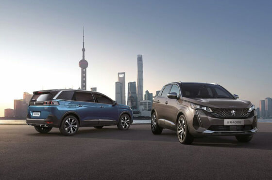 Peugeot 4008 y 5008 China
