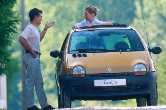 Renault Twingo con techo corredizo