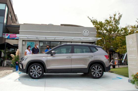 VW Taos pop-up store