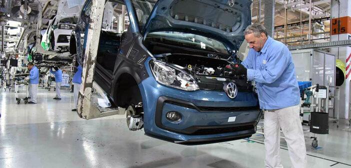 VW Brasil confirmó el fin de producción del up!