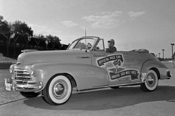 Chevrolet Fleetmaster Convertible pace car de la Indy 500 1948.