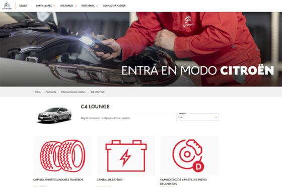 Citroen E-Store Posventa