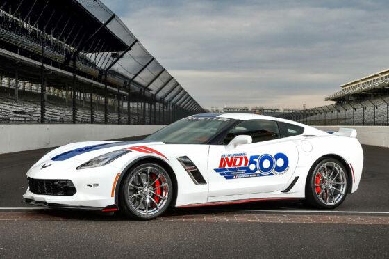 Corvette 2017 pace car Indy 500