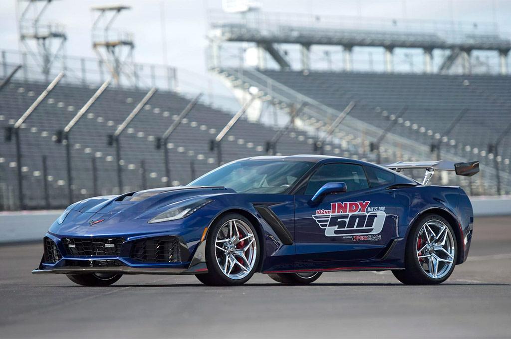 Corvette 2018 pace car Indy 500