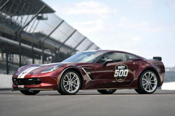 Corvette 2019 pace car Indy 500