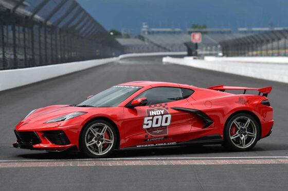 Corvette 2020 pace car Indy 500