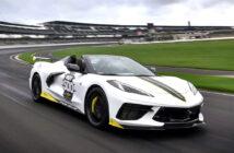 Corvette Convertible 2021 pace car Indy 500