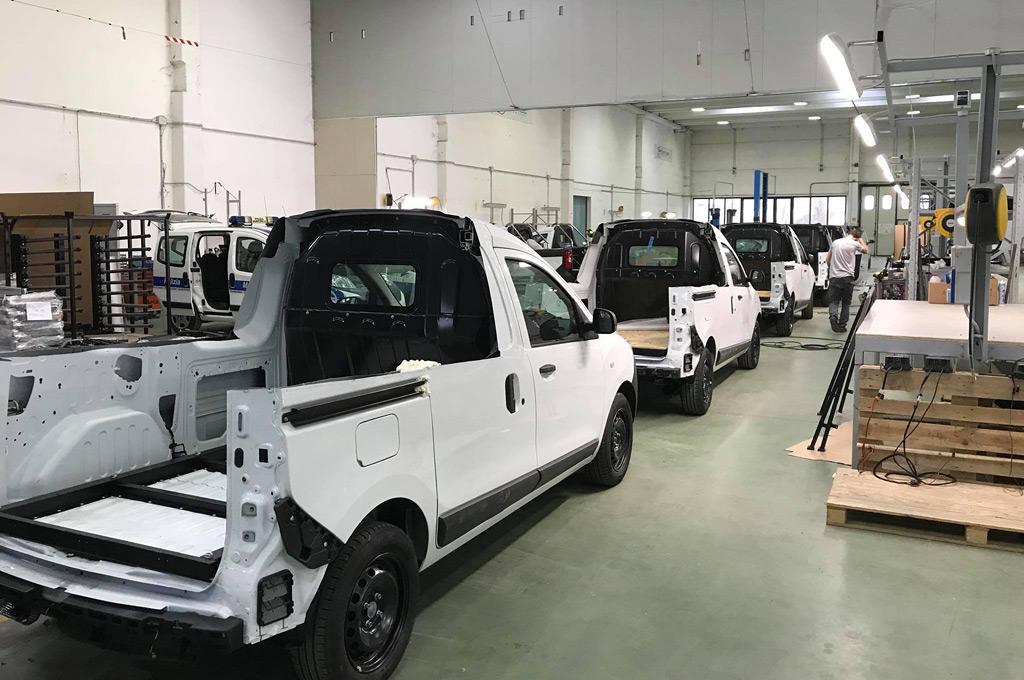 Dacia Dokker pick-up - Focaccia