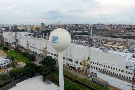 Planta de GM en Sao Caetano