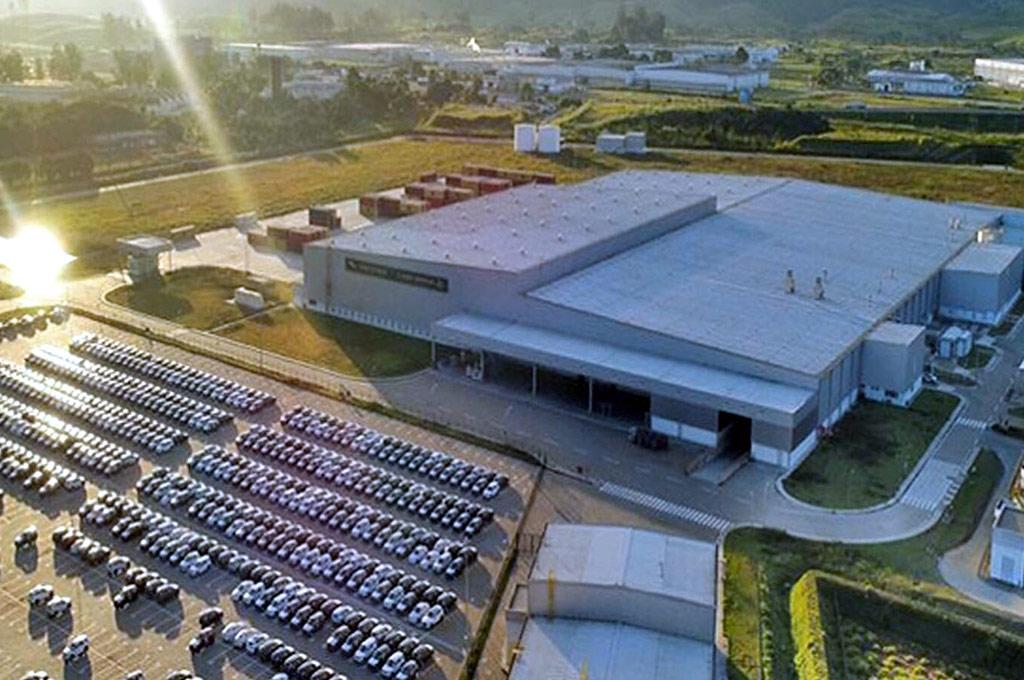 Planta de Land Rover de Itatiaia, Brasil