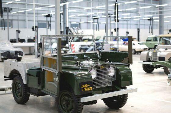 Land Rover Restoration Clinic