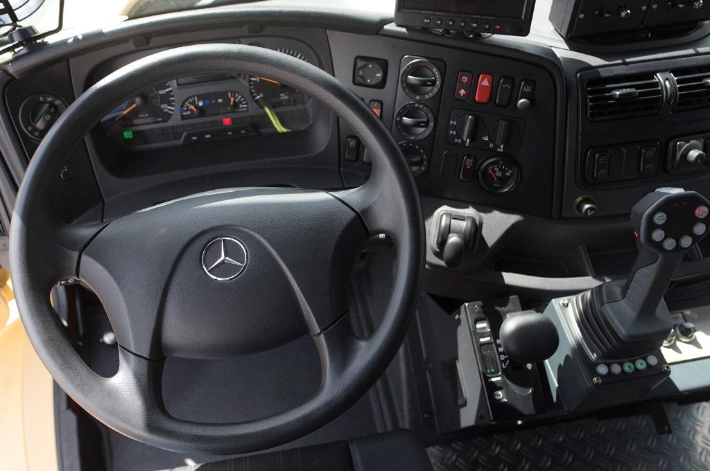 Mercedes-Benz Zetros Fuerza Aérea Argentina
