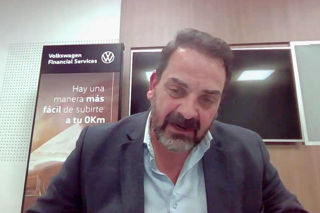 Roberto Pacífico, director comercial de VW Financial Services Argentina