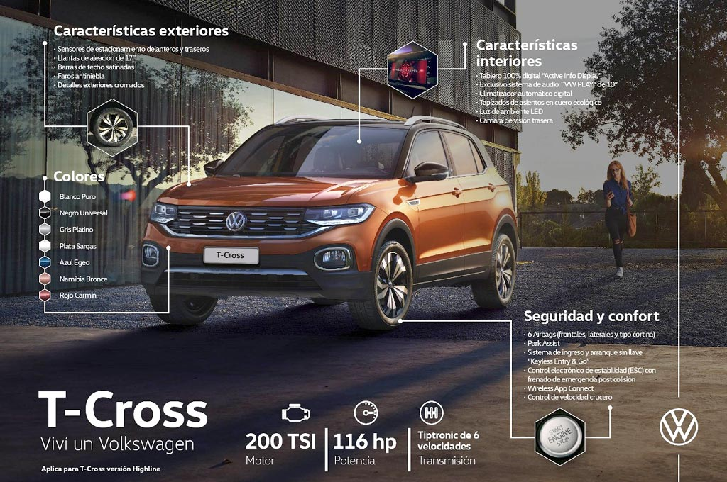 VW T-Cross Turbo
