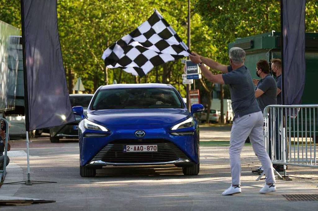 Toyota Mirai - Récord de autonomía