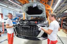 Planta de Audi en Ingolstadt, Alemania.