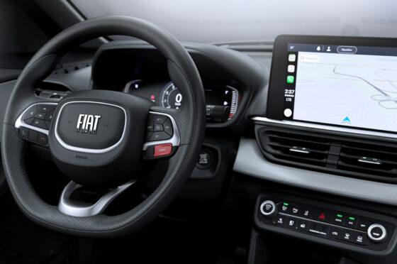 Así es el interior del Fiat Pulse