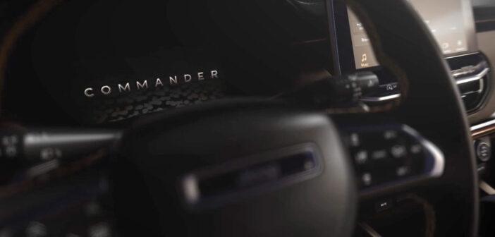 Jeep reveló el interior del Commander, el SUV regional que lanzará a fin de año
