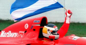 Reutemann en la previa del GP de Argentina 1995