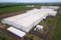 Planta de autos de Mercedes-Benz en Iracemápolis, Brasil.