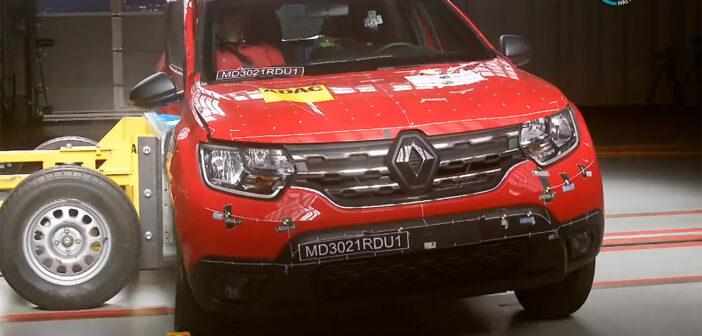 El Nuevo Renault Duster obtuvo 0 estrellas en el test de Latin NCAP