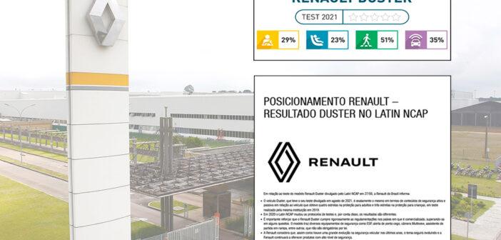 ¿Qué dijo Renault ante el resultado de 0 estrellas del Nuevo Duster?