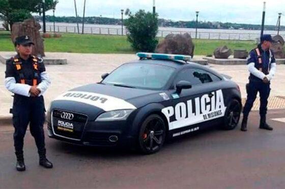 Audi TT patrullero de Misiones.