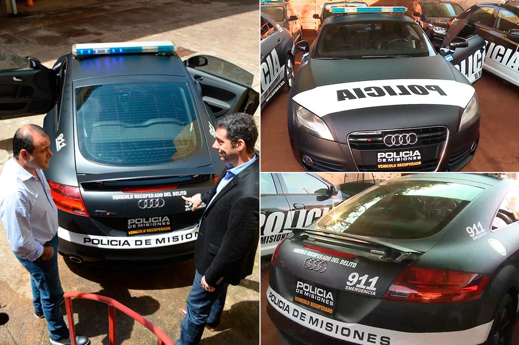 patrullero Audi TT Misiones