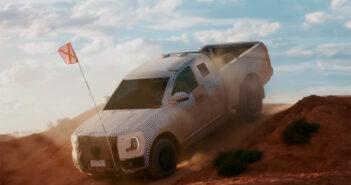 Teaser de la Ford Ranger 2022