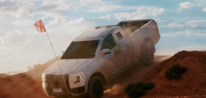 Ford comenzó a develar la Nueva Ranger que se fabricará en 2023 en Argentina