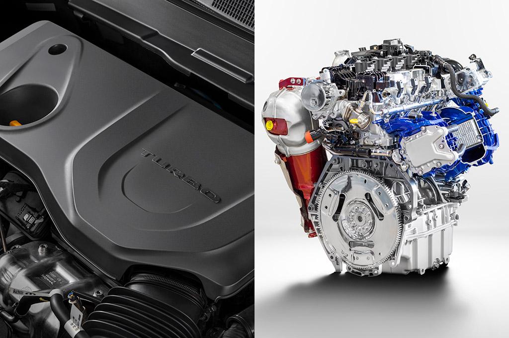 Motor 1.3 turbo del Jeep Compass