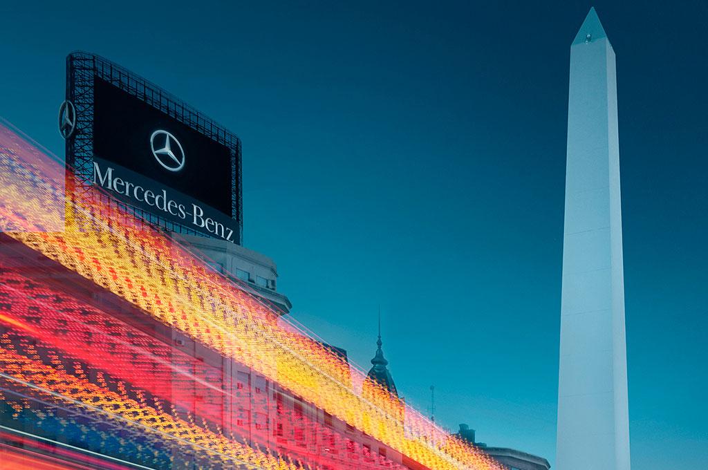 Mercedes Argentina 70 años