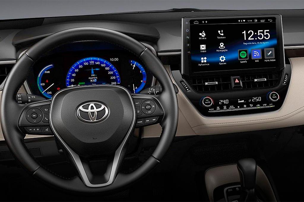 Toyota Corolla pantalla de 10 pulgadas