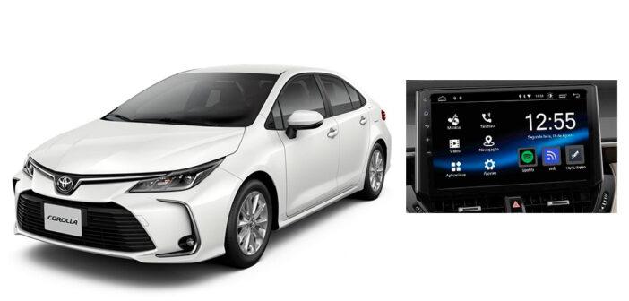 Por falta de insumos, Toyota instala la multimedia del Corolla en los concesionarios