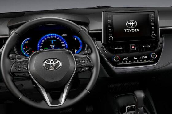 Toyota Corolla pantalla de 8 pulgadas
