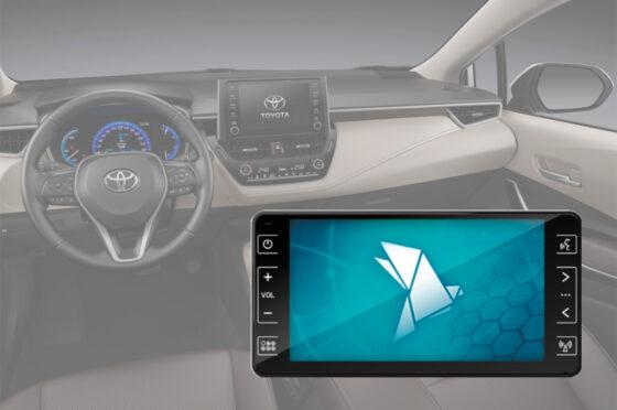 Central multimedia del Toyota Corolla