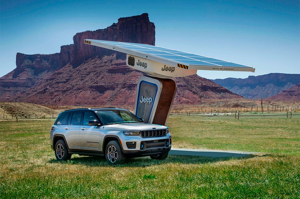 Nuevo Jeep Grand Cherokee 4xe