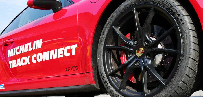 Michelin presentó el Track Connect, el primer neumático conectado de Argentina