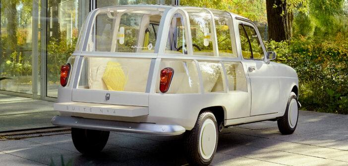 Suite N°4, una particular reinterpretación del Renault 4L